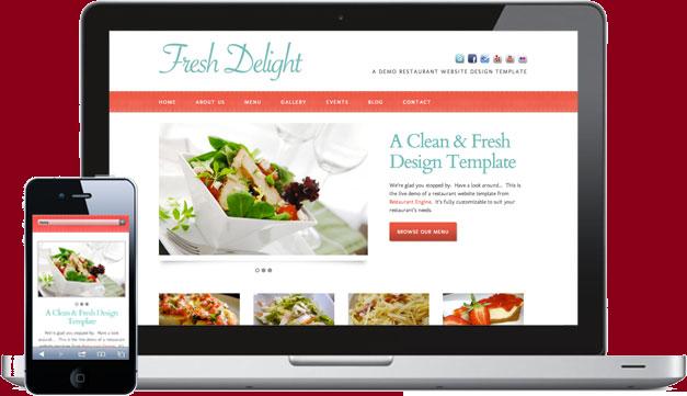 Sito mobile fondamentale per ristoranti webtre for Sito mobili